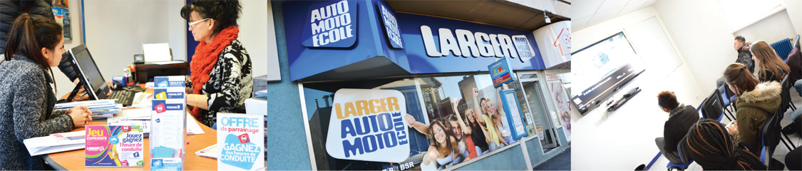 Photo de l'auto ecole du groupe larger à Saint-Louis