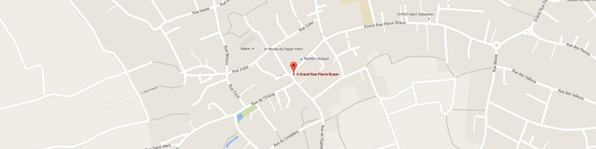 Plan pour géolocaliser l'auto-école larger dans Rixheim